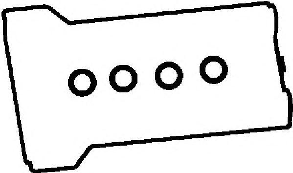 Прокладка клапанной крышки MERCEDES M111 компл.