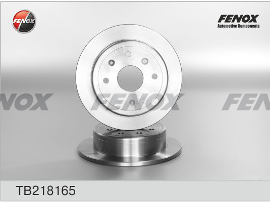 Диск тормозной задний Chevrolet Lacetti/Daewoo Nubira 03- 1,4 16V, 1,6, 1,8 TB218165