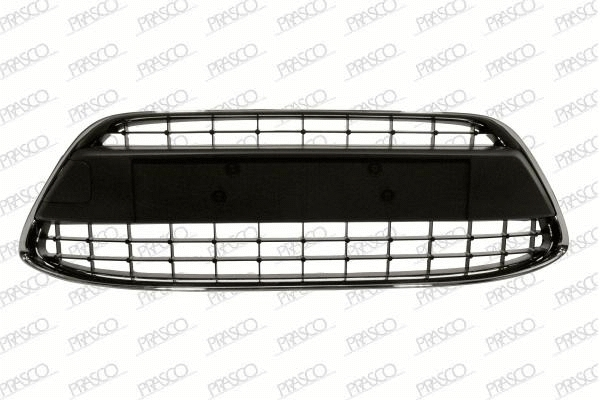 Решетка переднего бампера c хромированной рамкой / FORD Fiesta 08~