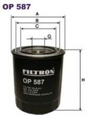 Фильтр масляный OP587