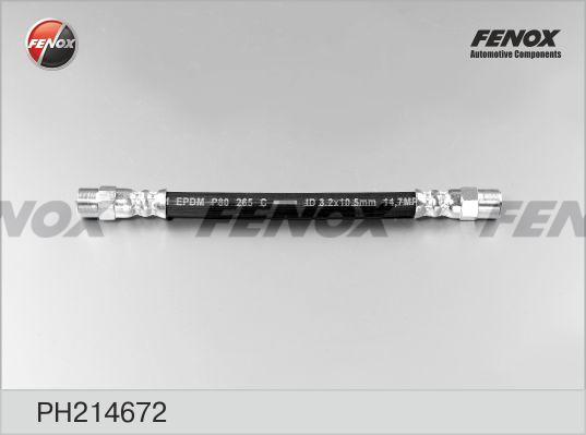 Шланг тормозной FENOX PH214672 VW PASSAT/GOLF 2 задн