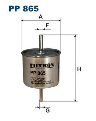 Фильтр топливный PP865