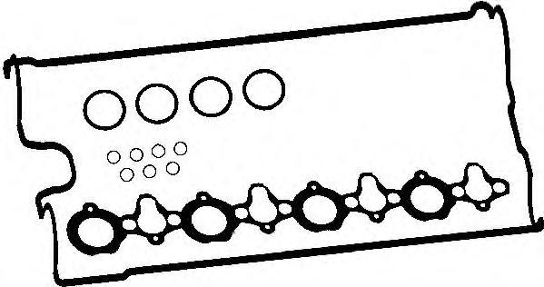 Прокладка клапанной крышки RENAULT/OPEL/NISSAN 2.2DCi/2.5DTi компл.