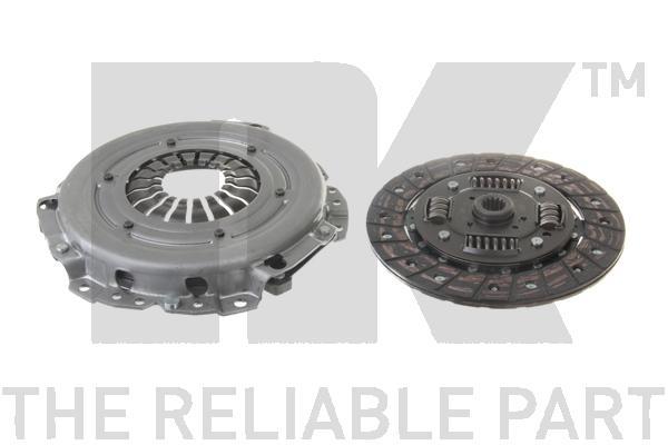Комплект сцепления, без выжимного подшипника / OPEL Astra-G,Corsa-C 1.2-16V ( 190 mm ) 98~
