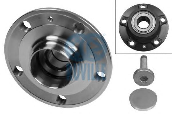 Ступица колеса замена 5454 - AUDI: A3 1.4 TFSI/1.6/1.6 FSI/1.8 T/1.8 TFSI/1.9 TDI/2.0/2.0 FSI/2.0 TDI/2.0 TDI 16V/2.0 TFSI 03-, A3 Sportback 1.4 TFSI/1.6/1.6 FSI/1.8