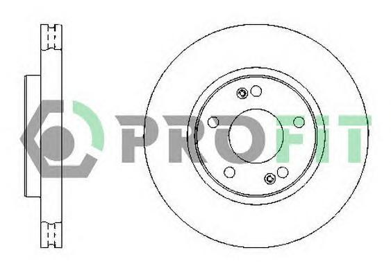 Диск тормозной HYUNDAI Tucson / KIA Sportage ('04-) 280x26 передний