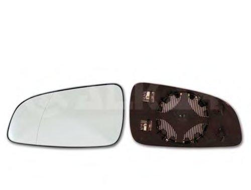 Стекло зеркала правое с подогревом, выпуклое