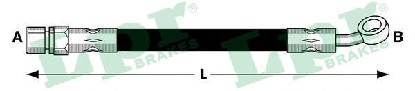 Шланг тормозной LPR 6T48044 LACETTI перед =96397201