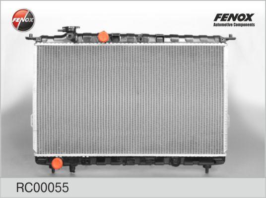 Радиатор HYUNDAI SONATA 2,0 2,4 /MT 98- RC00055