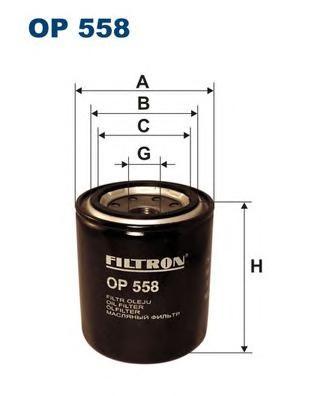 Фильтр масляный OP558