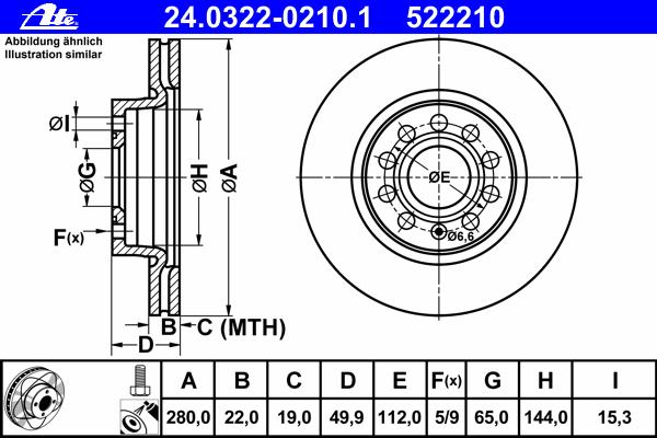 Диск тормозной передн, POWER DISC, AUDI: A3 1.2 TSI/1.4 TFSI/1.6/1.6 FSI/1.6 TDI/1.8 TFSI/1.8 TFSI quattro/1.9 TDI/2.0 FSI/2.0 TDI/2.0 TDI 16V/2.0 TDI 16V quattro/2.