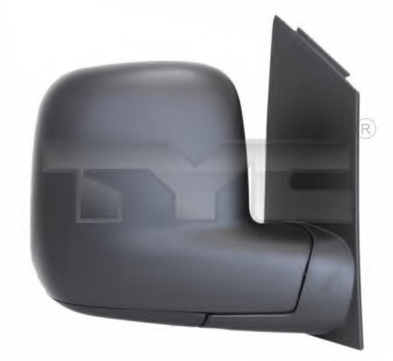 Зеркало наружное прав,ручн, выпукл VW: CADDY - 04-2010, TRANSPORTER T5 - 2003-09