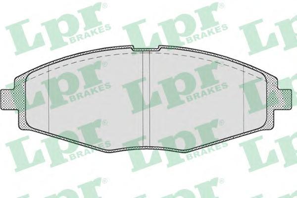 Комплект тормозных колодок 05P693