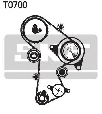 Комплект ГРМ с водяным насосом AUDI: A4 2.0 TDI/2.0 TDi quattro 07-, A4 Allroad 2.0 TDI quattro 09-, A4 Avant 2.0 TDI/2.0 TDI quattro 08-, A5 2.0 TDI/2.0 TDI quattro 07-, A5 Sp