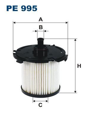 Фильтр топливный FILTRON PE995 FORD TRANSIT `06- 155л.с. (2.2 Duratorq TC)