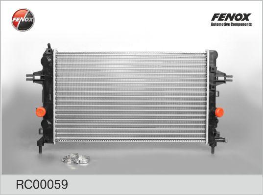 Радиатор FENOX RC00059 Opel Astra H 1.6 МКПП 04-