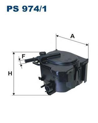 Фильтр топливный PS974/1