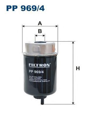 Фильтр топливный PP969/4