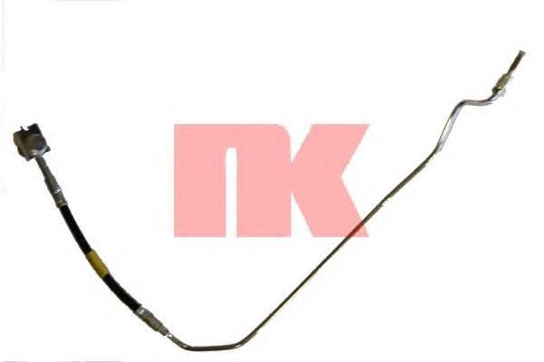 Шланг тормозной NK 8547116 A6 кроме 4WD