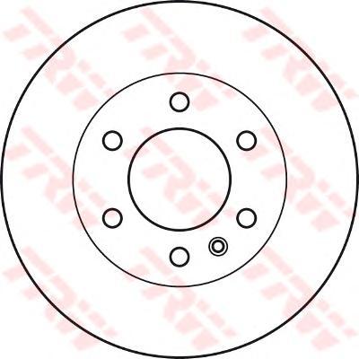 Диск тормозной передний MERCEDES SPRINTER (906), VW CRAFTER (300мм) DF4822S