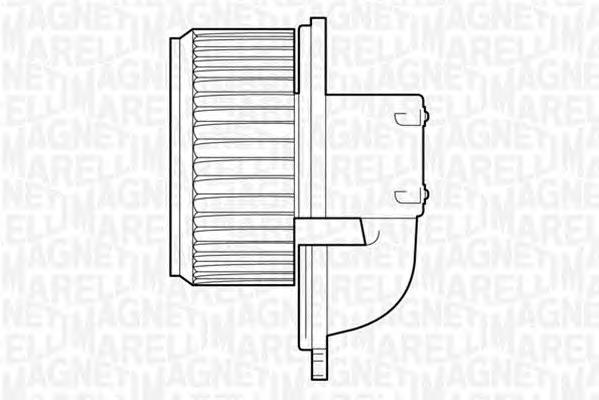 Мотор вентилятора отопителя (печки) Ducato RUS -AC MTC522AX