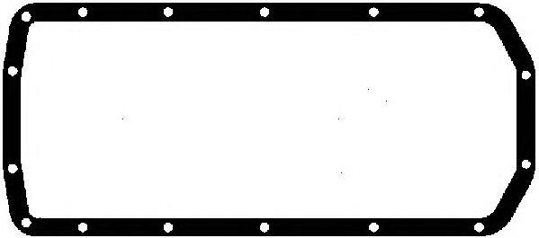Прокладка масляного поддона LANDROVER:88/109 3.54x4 63-86,90/110(DHMC) 3.54x4/3.5V84x4 83-90,DISCOVERYI(LJ,LG) 3.54x4/3.54x4(SALLJG)/3.9V84x4 89-98