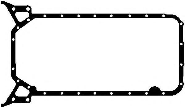 Прокладка поддона MERCEDES M111/OM601/604/611/646