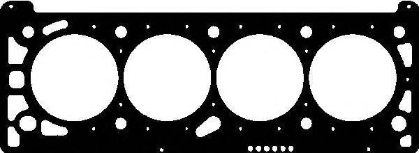 Прокладка г/бл VICTOR REINZ 613420500 OPEL Astra-G/Vectra-C X18XE металл