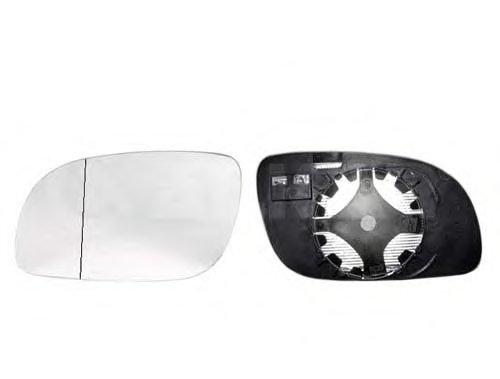 Стекло зеркала лев с подогр, асферич VW: TOURAN - 03-06