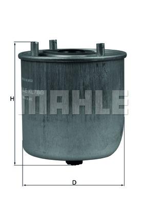 Фильтр топливный FORD: C-MAX 1.6TDCI 10-, FIESTA 1.6TDCI 08-, FOCUS LLL 1.6TDCI 11-, GRAND C-MAX 1.6TDCI 10- \ MAZDA: 5 1.6 CD 10- \ VOLVO: C30 1.6D 06-