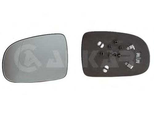 Стекло зеркала OPEL CORSA 00- левое с обогревом
