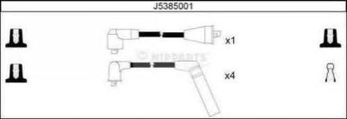 Провода в/в NIPPARTS J5385001 GALANT 01-03