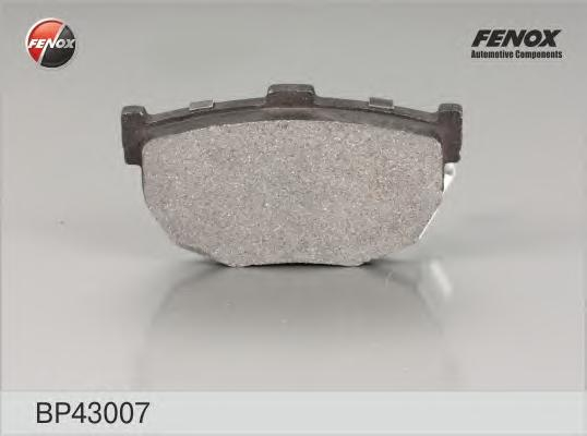 Колодки задние Hyundai Elantra (XD) 00-, Lantra II 95-00, Kia Spectra 04 -, Cerato 04- BP43007