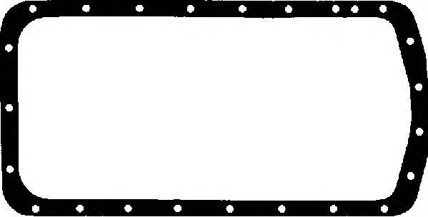 Прокладка масляного поддона CITROEN: BERLINGO 1.8 i/1.8 i 4WD 96-, BERLINGO фургон 1.8 i 96-, BX 1.6/1.9 GTi/16 E/19 GTi/19 GTi 16V/19 GTi 4x4 82-94, BX Break 16/19 83-