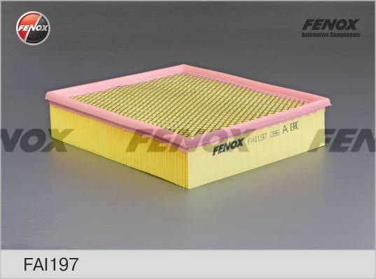 Фильтр воздушный Mercedes Sprinter (2t-5t) 95-06, Vito 99-03 2,2CDi FAI197