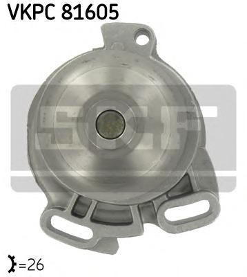 Насос водяной VW PASSAT 1.9-2.3 77-91