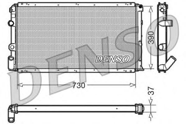 Радиатор системы охлаждения RENAULT: MASTER II c бортовой платформой/ходовая часть (ED/HD/UD) 2.8 dT