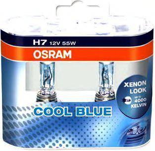 Лампа 12В Н7 55Вт +20% 4200К галогенная Osram