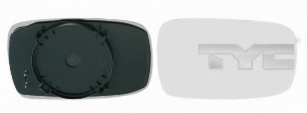 Стекло зеркала прав, электр, выпукл, с подогр FORD: MONDEO - 93-00