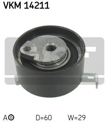 Ролик натяжителя VKM14211