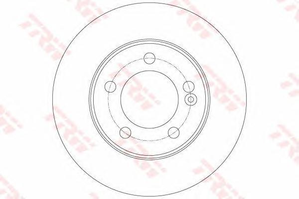 Диск тормозной NISSANU NU400 2.3 dCi RWD 11-