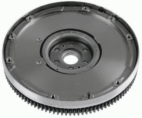 Маховик Ford Focus II/C-Max, Mondeo IV, Volvo S40 II 2,0 (04-14) 6366000007