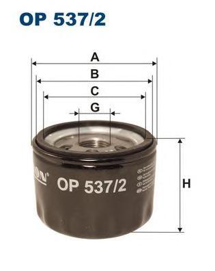 Фильтр масляный A.R. 147,156, FI Bravo, Doblo, Pun