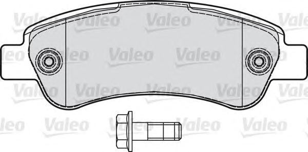 Комплект тормозных колодок brake pads fia ducato iii