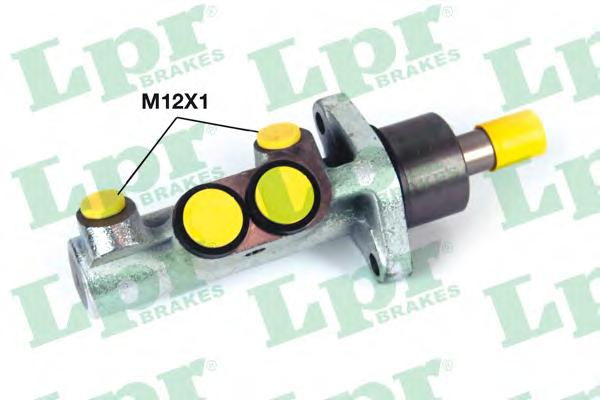 Цилиндр тормозной LPR 1265 D23.81 VW T4 c абс главный