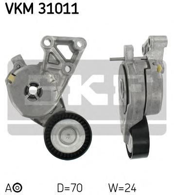 Ролик натяжителя VKM31011