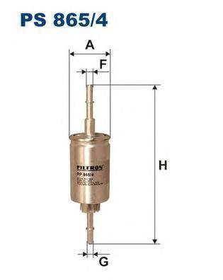 Фильтр топливный PS865/4