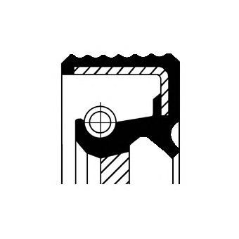 Сальник коленвала CITROEN: C-CROSSER 2.2 HDi 07-, C15 1.9 D 84-05, C4 2.0 HDi 04-, C4 Picasso 2.0 HDi 138 07-, C4 купе 2.0 HDi 04-, C5 2.0 HDi/2.2 H 4