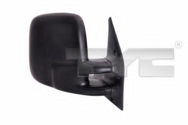 Зеркало наружное в сборе прав,ручн, выпукл VW: TRANSPORTER T4 - 90-03