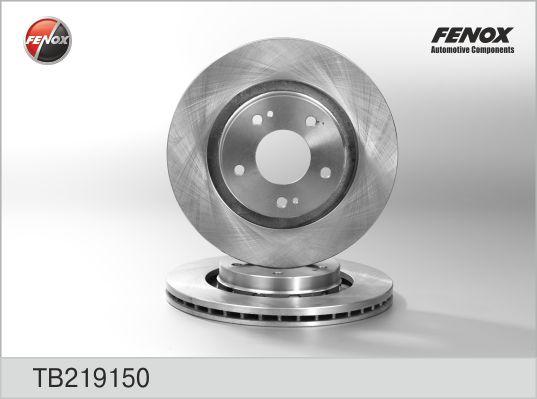 Диск тормозной передний CITROEN, Mitsubishi, PEUGEOT TB219150